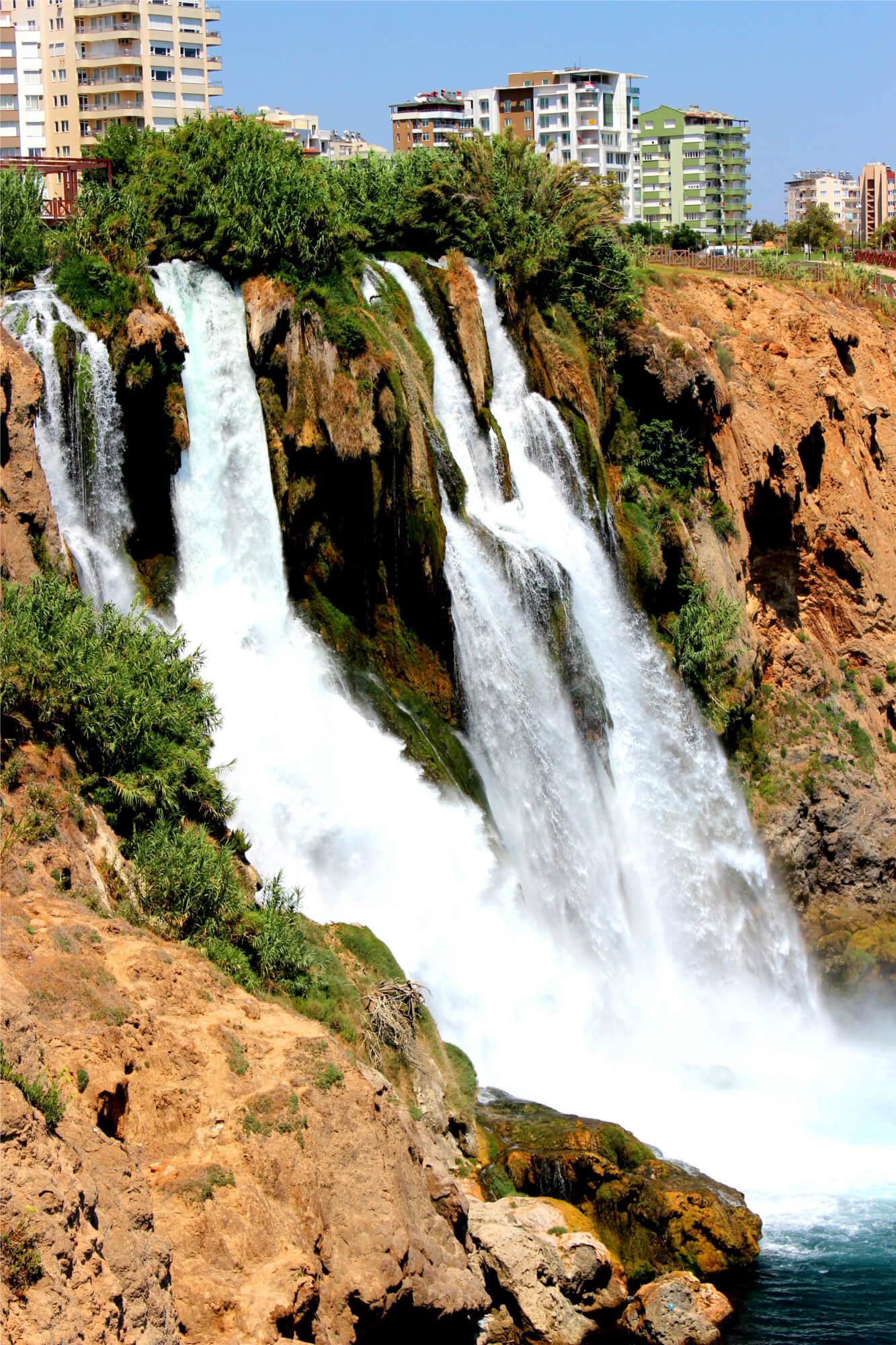 Wasserfall Düden Kiyi Selalesi