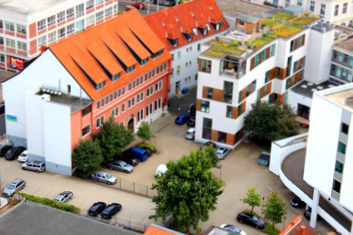 Hinterhof nahe der Reichsstraße